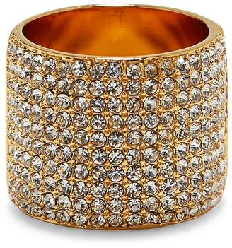 Vince Camuto Pave Cigar Band Ring