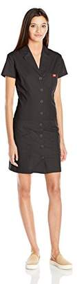Dickies Junior's Short Sleeve Button up Dress With Pockets