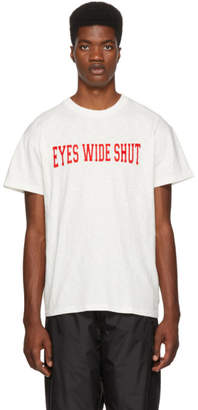 Nasaseasons White Eyes Wide Shut T-Shirt