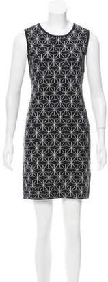 Alice + Olivia Wool Intarsia Dress