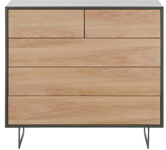 Lincoln Chest Of Drawers, Oak & Grey