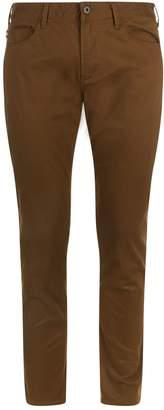 Emporio Armani Cotton Trousers
