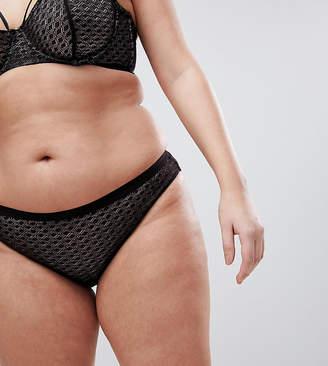 Asos Gianna Diamond Lace Brazilian Pant
