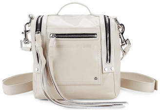 McQ Zippered Leather Backpack