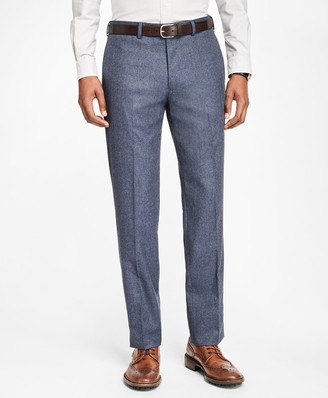 Brooks Brothers Milano Fit Stretch Flannel Trousers