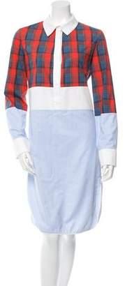Altuzarra Printed Button-Up Dress