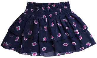 Imoga Floral Ruffle Skirt