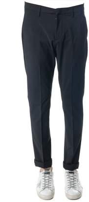 Dondup Gaubert Gray Color Wool Blend Trousers