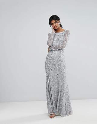 French Connection Sparkle Maxi Gown