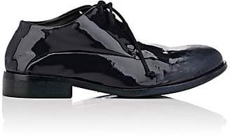 Marsèll Women's Distressed Patent Leather Oxfords - Blue Pat.