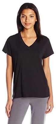 Hue Women's Short Sleeve V-Neck Sleep Tee