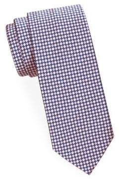 Brioni Mini Diamond Silk Tie