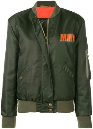 Mr & Mrs Italy logo bomber jacket