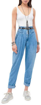 Z. Cavaricci Cayete High-Rise Denim Trousers