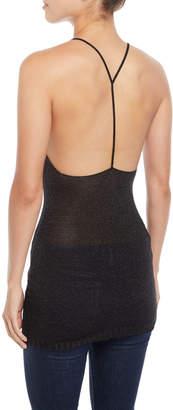 Natalia Fedner Scoop-Neck T-Back Mini Cocktail Dress