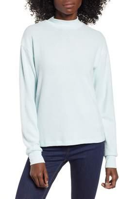 Socialite Cozy Mock Neck Pullover