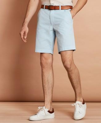 Brooks Brothers Striped Cotton Seersucker Shorts