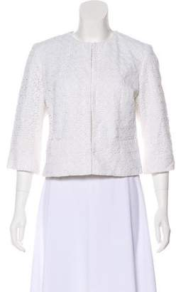 Milly Casual Textured Jacket