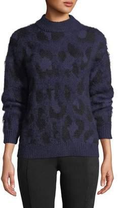 Kate Spade Leopard Pullover Sweater