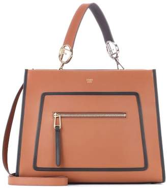 Fendi Runaway leather shoulder bag