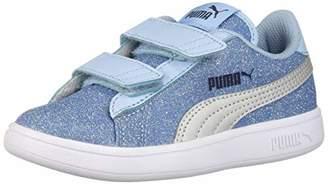 e857b35d9d0f18 Puma Unisex Smash Glitz Glam Velcro Sneaker