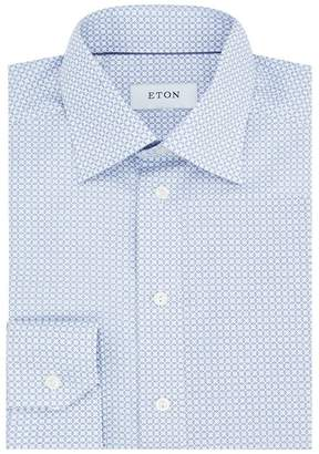 Eton Slim Fit Geometric Shirt