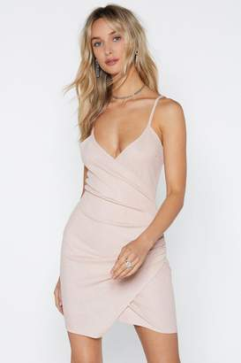 Nasty Gal Sorry to Ruche You Wrap Dress