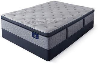 Serta Perfect Sleeper Kingsburg Firm Pillowtop - Mattress + Box Spring