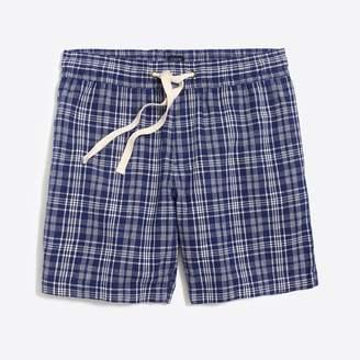 "J.Crew Factory 7"" Reade cotton-linen drawstring short"