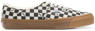 Vans checked lace-up sneakers