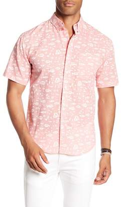 LOFT 604 Printed Regular Fit Print Woven Shirt