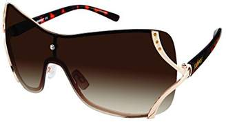 Southpole Women's 454sp-Gld Shield Sunglasses