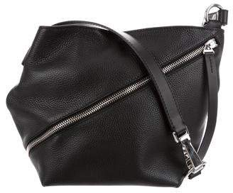 Proenza Schouler Pebbled Leather Zip Hobo