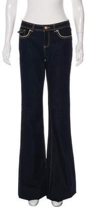 Rachel Zoe Mid-Rise Wide-Leg Jeans w/ Tags