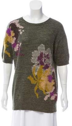 Dries Van Noten Silk & Alpaca-Blend Sweater