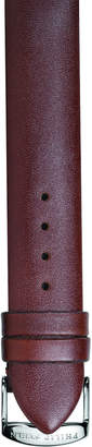 Philip Stein Teslar 18mm Calfskin Watch Strap, Chocolate