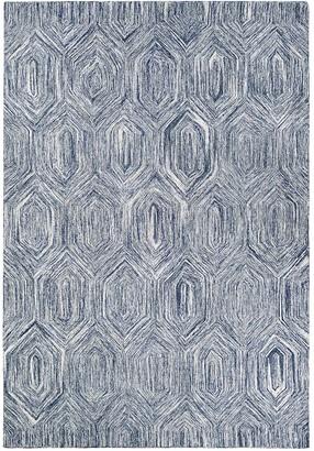 Couristan Crawford Princess Cut Geometric Wool Blend Rug
