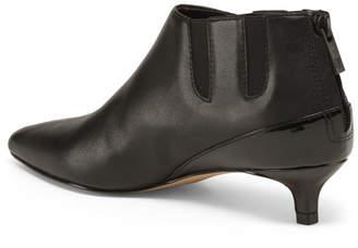 Donald J Pliner Kitten Heel Leather Booties