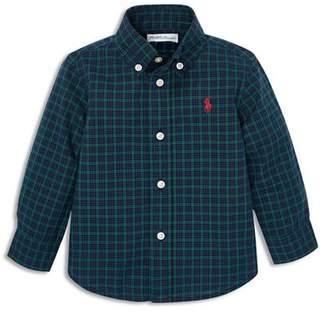 Ralph Lauren Boys' Plaid Cotton Poplin Shirt - Baby