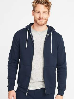 Old Navy Striped-Sleeve Zip Hoodie for Men