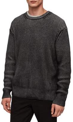AllSaints Quarter Crewneck Sweater