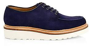 Grenson Men's Barnett Suede Wedge Lace-Up Shoes