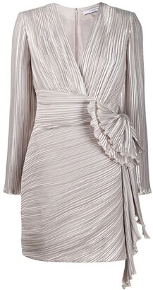 Givenchy draped detail pleated dress