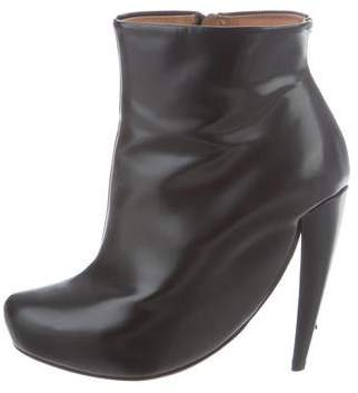 Maison Margiela Round-Toe Ankle Boots