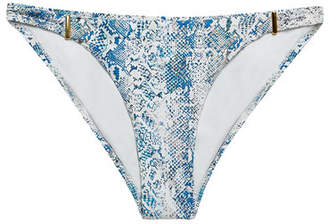 Melissa Odabash Martinique Snake Print Bikini Bottoms