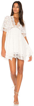 Nightcap Clothing Eyelet Flare Dress