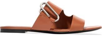 3.1 Phillip Lim Alix Leather Slides - Tan