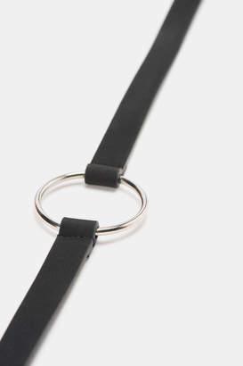 Ardene Faux Leather Ring Belt