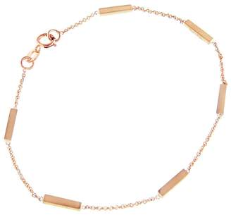 Jennifer Meyer Bar Bracelet - Rose Gold