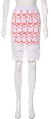 Rebecca Minkoff Lace Knee-Length Skirt